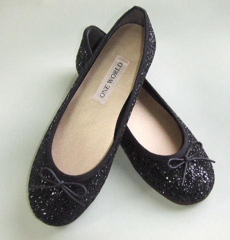 画像1: 浅いコッペ靴セクエル黒