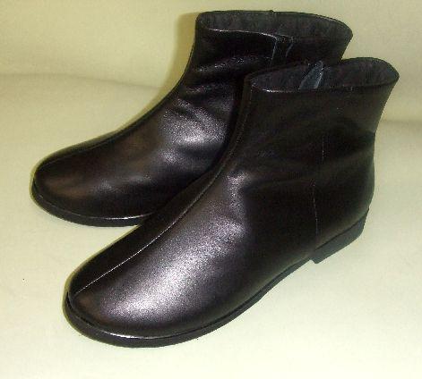画像1: 本皮ブーツ15センチ