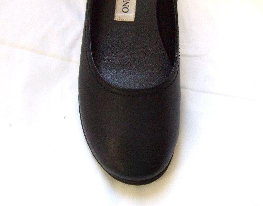 画像2: 本革ウエッジソール4.5黒