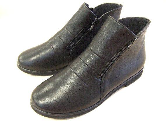 画像1: 本革ブーツ12黒